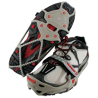 Yaktrax Run Ice Traction - X Large - Grey/Red