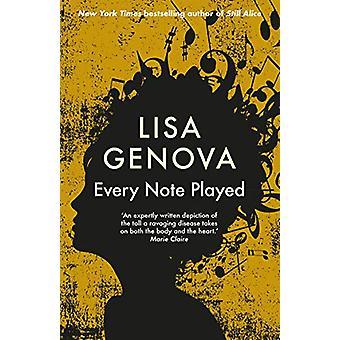 Elke noot gespeeld door Lisa Genova - 9781760633080 Boek