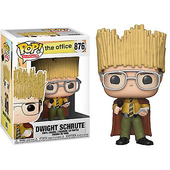 The Office Dwight Schrute Hay King US Excl Pop! Vinyl