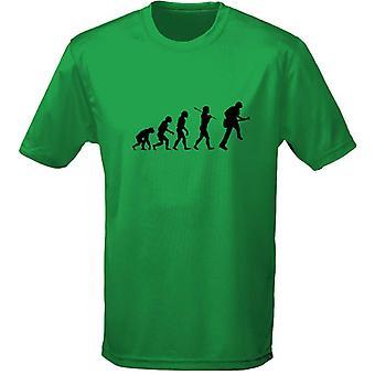 Gitaar evolutie Mens T-Shirt 10 kleuren (S-3XL) door swagwear