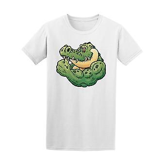 تمساح قوي غيبوبة المحملة الرجال-الصورة عن طريق Shutterstock
