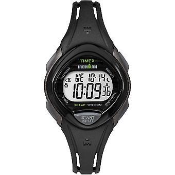 Tw5M10300, Timex Damen Tw5M10300 Ironman Sleek 30 Mid-Size Black Sport Uhr
