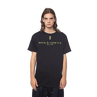 Nicolo Tonetto Nero Black T-Shirt NI681948-L
