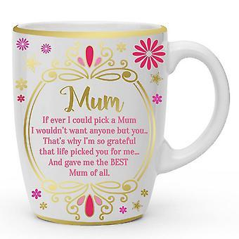 Sensations Liquid Gold Mum Mothers Day Mug