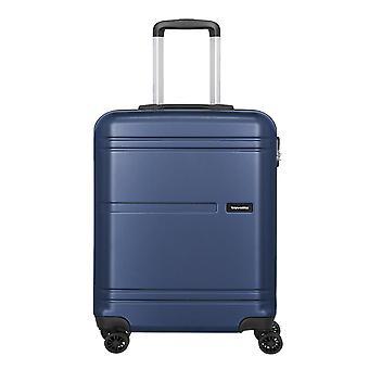 travelite Yamba Equipaje de mano Trolley S, 4 ruedas, 55 cm, 37 L, azul