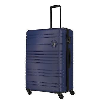 travelite Roadtrip Trolley L, 4 rollen, 77 cm, 97 L, Blauw
