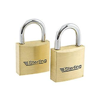 Sterling Mid Security Padlock (Pack of 2)