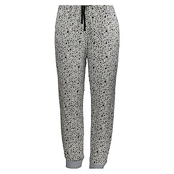 Cuddl Duds Women's Petite Pajama Pants Ultra Plush Velvet Fleece Gray A294796