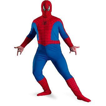 Spiderman volwassen Plus grootte kostuum