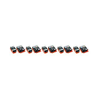 RudyTwos 5x Replacement for Epson Globe 266 267 Set Ink Unit Black & Tri-Colour Compatible with WF100