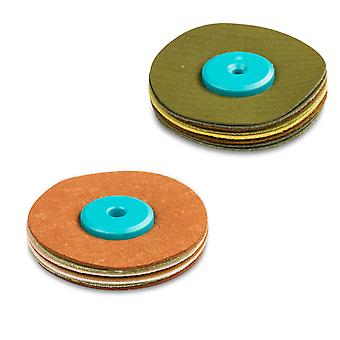 Cooksongold Synthétique Suede Polissage Roue Mop