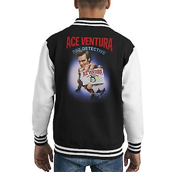 Ace Ventura Pet Detective ID Card Kid's Varsity Jacket
