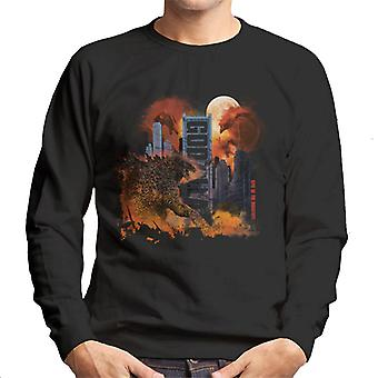 Godzilla City Chaos Men's Sweatshirt