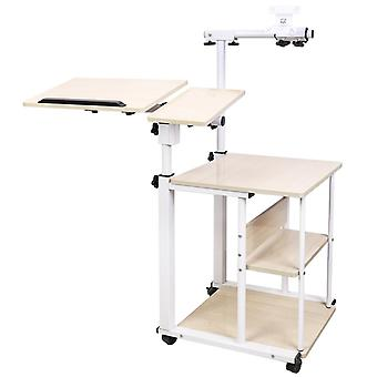 Adjustable Computer Desk Rolling Laptop Table Stand