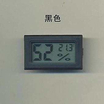 Digital Lcd Thermometer Hygrometer For Pet Ant Farm Reptiles Turtle Box,