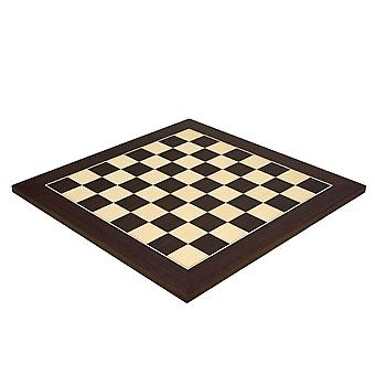 17.75 Inch Wenge and Maple Deluxe Chess Board