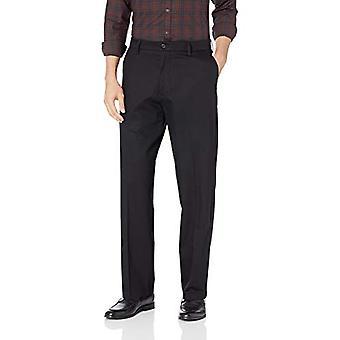 Dockers Men's Relaxed Fit Signature Khaki Lux Cotton Stretch Pants D4, Zwart,...