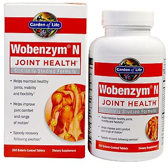 Wobenzym N, Joint Health, 200 Enteric-Coated Tablets