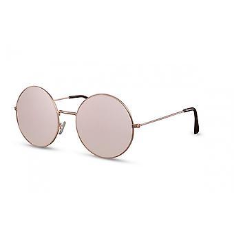 النظارات الشمسية السيدات كات. 3 جولة الوردي / الذهب (CWI1805)