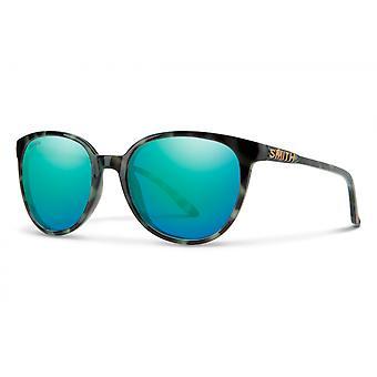 Aurinkolasit Unisex Cheetah vihreä/sininen monikerroksinen