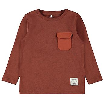 Name-it Boys Tshirt Onta Burnt Brick