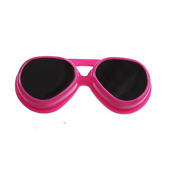 Lens box pink sunglasses