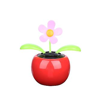 New Moving Dancing Swing Flip Flap Solar Toy Sunflower Apple Car Gadgets Gift Home Decorating Plants Toy