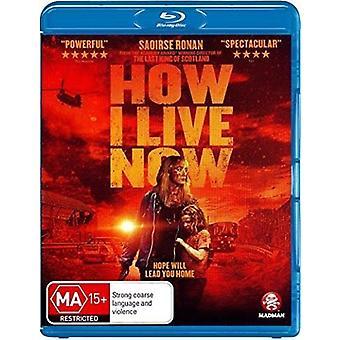 Hur jag lever nu [Blu-ray] USA import