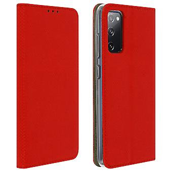 Samsung Galaxy S20 FE Flip Cover mit Standfunktion – Rot