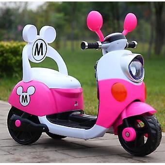 Mikki Lapsi ajaa sähköllä lelu moottoripyörä pyörä 1-5-vuotiaille vauva