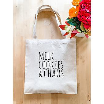 Milk Cookies & Chaos - Tote Bag