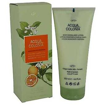 4711 Acqua Colonia Mandarine & Cardamom By Maurer & Wirtz Body Lotion Body Lotion 6.8 Oz (women) V728-540808