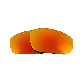Polarized Replacement Lenses for Oakley Fives 2.0 Sunglasses Anti-Scratch Red