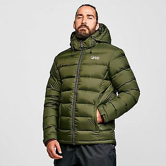 New North Ridge Men's Tech Down Jacket Green