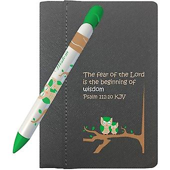 """311, Greeting Pen Wisdom Gift Set With 4"""" X 6"""" Notebook And 1 Rotating Message Pen (311)"""