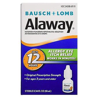 Alaway antihistamine eye drops, 0.34 oz