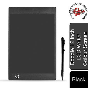 Aquarius Doodle 12inch LCD Writing & Drawing Tablet Board-Black