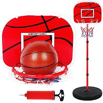 Basketball Stands, Height Adjustable Kids Basketball Goal Hoop Toy Set