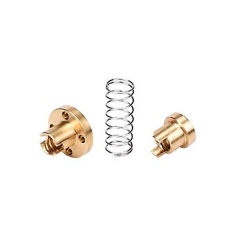 T8 Anti Backlash Spring Loaded Nut Elimination Gap Nut