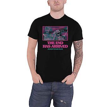 أحضر لي الأفق تي قميص نهاية الفرقة شعار جديد الرسمية الرجال الأسود