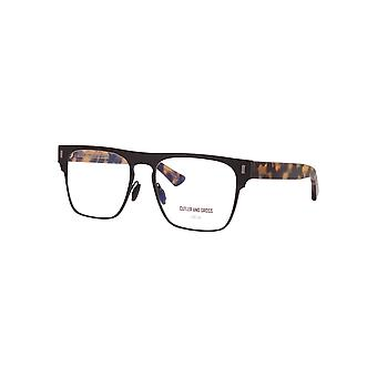 Cutler and Gross 1366 03 Matte Black on Camouflage Glasses