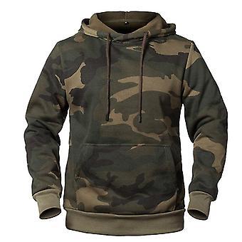 Camuflaje sudaderas hombres, sudadera macho, otoño, invierno sudadera militar con capucha