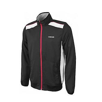 Head Body Clothing Club Zip Up Veste d'entraînement Hommes Noir Blanc 811615 BK A17B
