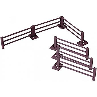 Britains Farm Fencing.  6 Fence Panels  40952