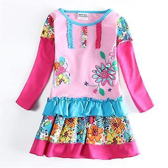 Langarm Mädchen Kleid, Fliegenpilz, Säugling