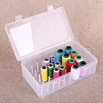 Durable Professional Sewing Yarn Spools Containers, Storage Case With Support
