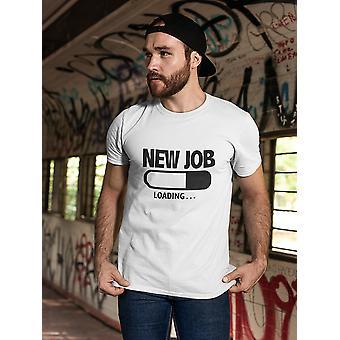 Werden geladen... Neuen Job T-Shirt Herren-Bild von Shutterstock