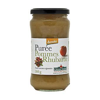 Sugar-Free Rhubarb Apple Puree 360 g