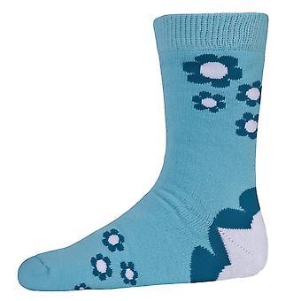 Tunkeutuminen lasten tytöt Bevan kukka kuviolliset sukat (2 paria)