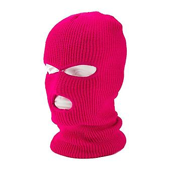 Neulottu kasvonkansi, Talvibalaklaava Full Mask For Winter, Outdoor Sports,